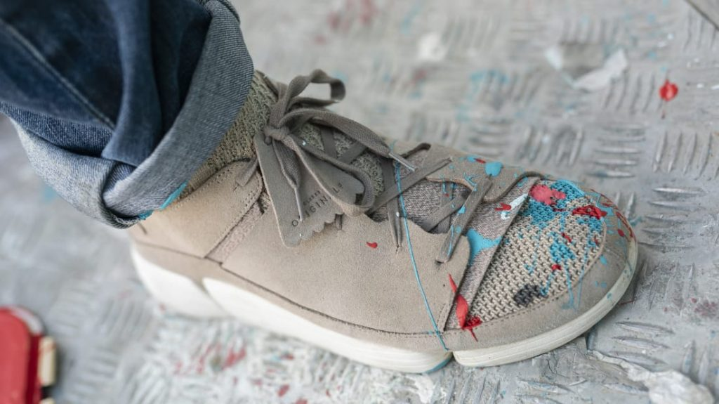 Clarks Originals Links up with D*Face to Showcase the New Trigenic Knit Pack