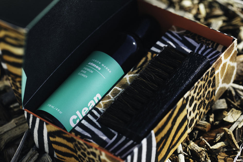 "atmos & Jason Markk Introduce the ""Beast"" Premium Sneaker Cleaning Kit"